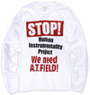 【蔵出し】EVANGELION×BEAMS T コラボレーションTシャツ Anti H.I.P LS Sサイズ
