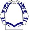 【セール】天元突破グレンラガン カミナタトゥー ラグランTシャツ Mサイズ(白)