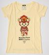 【蔵出し】【半額セール】EVA×HbG 2号機キャメろんTシャツ レディース FREEサイズ イエロー (モバコレ)