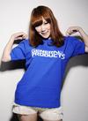 ゼネプロ ロゴTシャツ Blue S