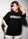 ゼネプロ ロゴTシャツ Black S