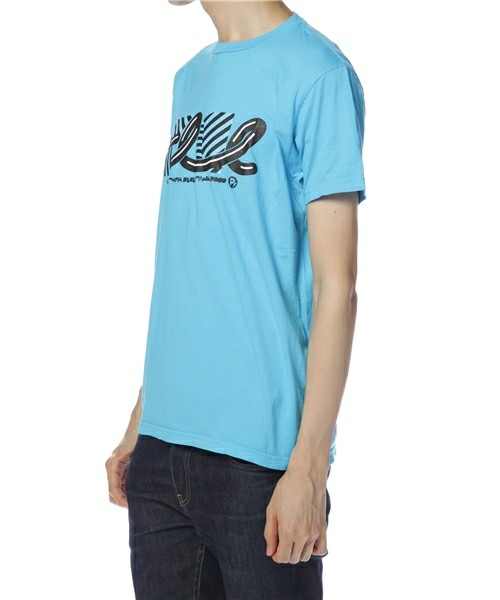 【セール】FLCL×MANGART BEAMS T コラボレーションTシャツ FLCL dazzle Logo Lサイズ