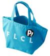 【蔵出し】RADIO EVA 【FLCL】Lunch Bag(ブルー×ブルー) ※ヱヴァクリ展限定品