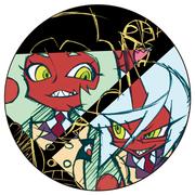 PSG 悪魔缶 feat. Akira Amemiya 【GAINAXオリジナル】(缶バッチ)
