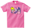 Panty&Stocking with Garterbelt アメリカンポップ Tシャツ ピンク Lサイズ