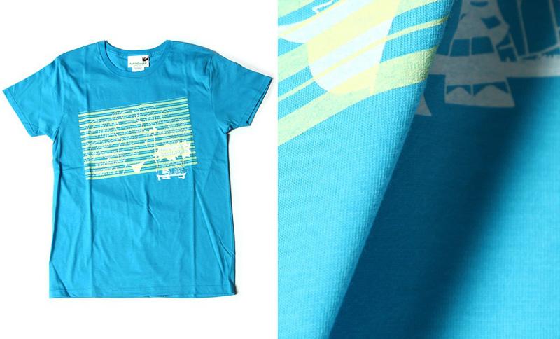 【セール】Panty&Stocking with Garterbelt×MANGART BEAMS T コラボTシャツ【LINGERIE】 Lサイズ