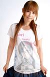 【蔵出し】EVA×mmts マリmeetsマミタスTシャツ ピンク Mサイズ (モバコレ)