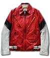 【蔵出し】【半額セール】EVA2号機モデル レザートラッカージャケット Lサイズ