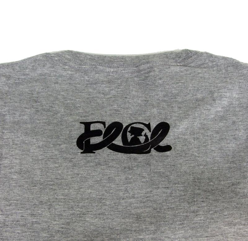 【セール】FLCL×MANGART BEAMS T コラボTシャツ FLCL dazzle Logo【ガイナックス限定カラー/杢グレー×ブラック】Lサイズ