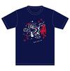 魔法少女大戦 GAINAXオリジナルデザイン和柄Tシャツ 青葉鳴子 Lサイズ