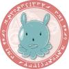 放課後のプレアデス プレアデス星人缶バッチNo.6(レッド)会長腕組み