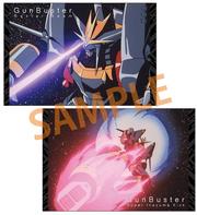 トップをねらえ!ガンバスター必殺技 ポストカードセット6枚組 (GAINAXオリジナル)