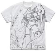 トップをねらえ!ガンバスターオールプリント Tシャツ 白 Mサイズ(コスパ)