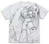 トップをねらえ!ガンバスターオールプリント Tシャツ 白 Lサイズ(コスパ)