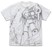 トップをねらえ!ガンバスターオールプリント Tシャツ 白 XLサイズ(コスパ)