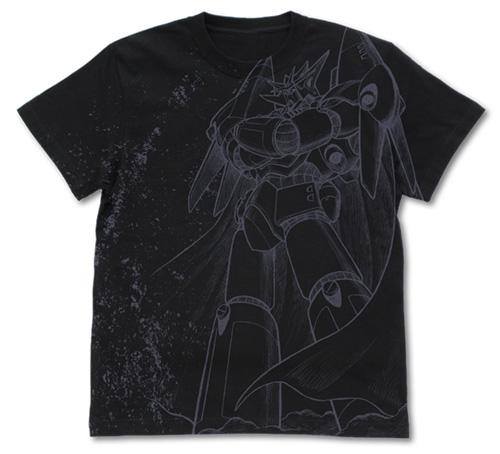 トップをねらえ!ガンバスターオールプリント Tシャツ 黒 Mサイズ(コスパ)
