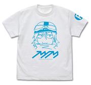 フリクリ ハル子 Tシャツ ホワイト Lサイズ(コスパ)
