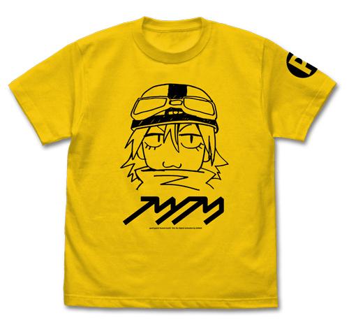フリクリ ハル子 Tシャツ カナリアイエロー Mサイズ(コスパ)