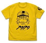 フリクリ ハル子 Tシャツ カナリアイエロー XLサイズ(コスパ)