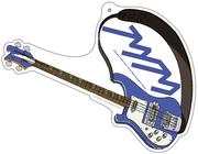 フリクリ アクリルキーホルダー ハル子のギター(リッケンバッカー)【GAINAXオリジナル】