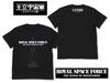王立宇宙軍 オネアミスの翼 Tシャツ ブラック Sサイズ【GAINAXオリジナル】