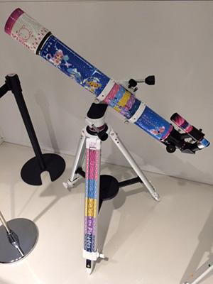 「放課後のプレアデス」ラッピング天体望遠鏡(非売品)